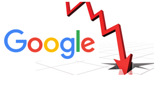 What makes Google a negative point